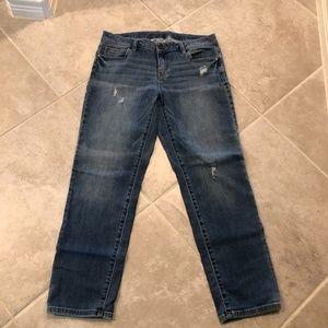Jennifer Lopez Boyfriend jeans size 4